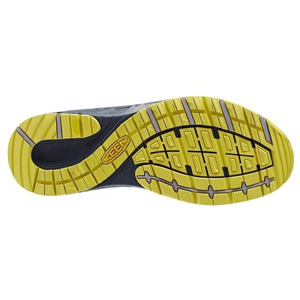Men's Keen Versatrail Shoe   Midnight Navy Warm Olive   Bottom View