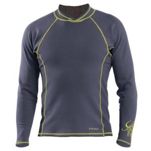 Men's Kokatat NeoCore Long Sleeve Shirt | Graphite | Front View