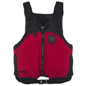 Unisex NRS Big Water Guide PFD | Red | Front View