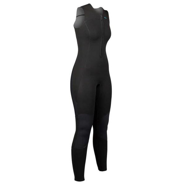 Women's NRS Farmer Jane 2.0 Wetsuit | Black | Side View