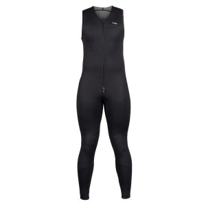Men's NRS Farmer John 2.0 Wetsuit | Black | Front View