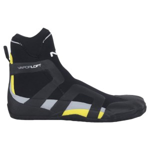 Unisex NRS Freestyle Wetshoe Bootie | Black Yellow | Side View