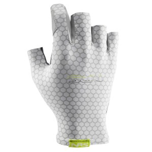 Unisex NRS Skelton Gloves | White