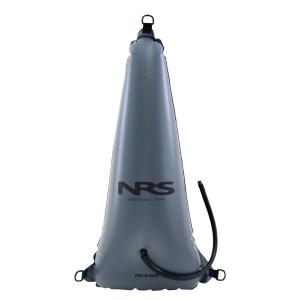 NRS Infinity Rodeo Whitewater Kayak Float Bag   Grey   Individual