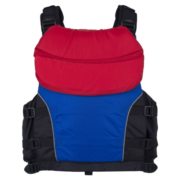 Unisex NRS Universal Big Water V PFD   Blue Red   Back View