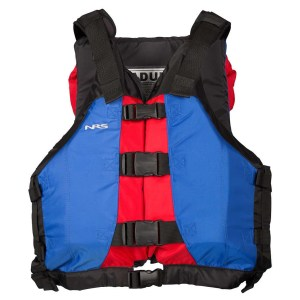 Unisex NRS Universal Big Water V PFD | Blue Red | Front View