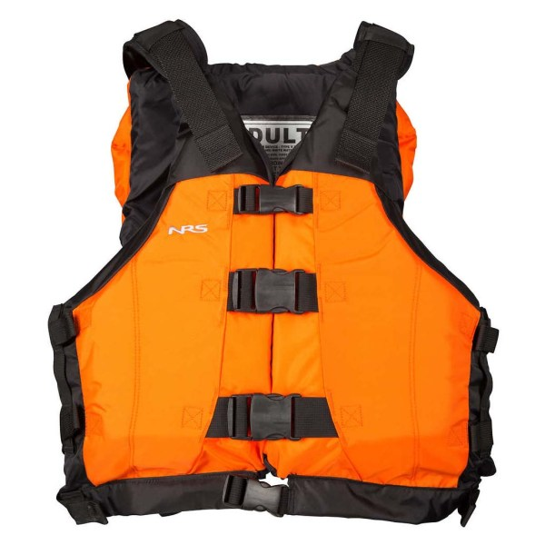 Unisex NRS Universal Big Water V PFD | Orange | Front View