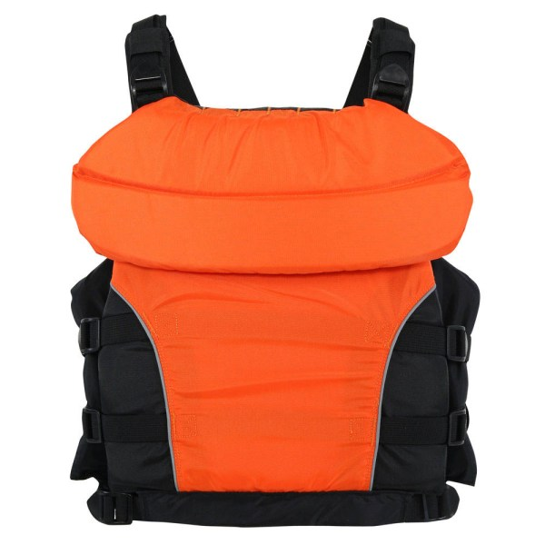 Youth NRS Universal Big Water V PFD | Orange | Back View