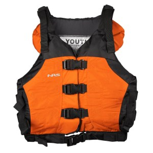 Youth NRS Universal Big Water V PFD | Orange | Front View