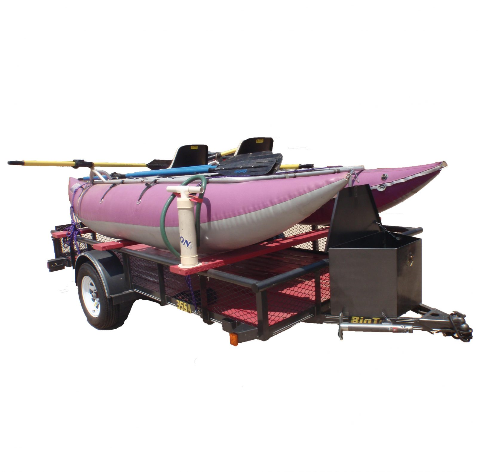 Used // AIRE Cataraft 14' & Big Tex Trailer