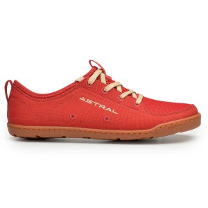 Women's Astral Loyak Water Shoe   Rosa Red   Side View