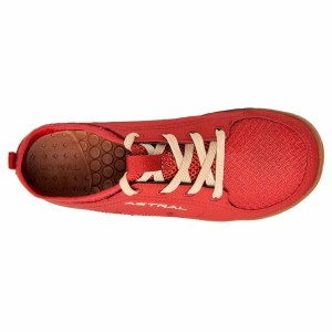 Women's Astral Loyak Water Shoe | Rosa Red | Top View