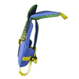 Stohlquist Nemo PFD   Infant   Blue/Green   Side View