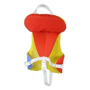 Stohlquist Nemo PFD | Infant | Orange/Yellow | Back View