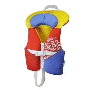 Stohlquist Nemo PFD | Infant | Orange/Yellow | Front View