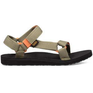 Teva Women's Original Universal | Burnt Olive/ Jaffa Orange | Side View