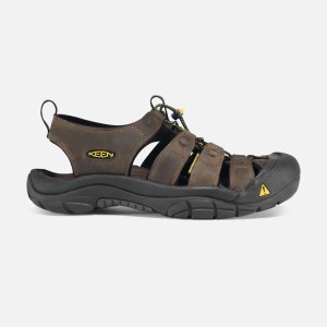 Keen Men's Newport Sandal | Bison | Side View
