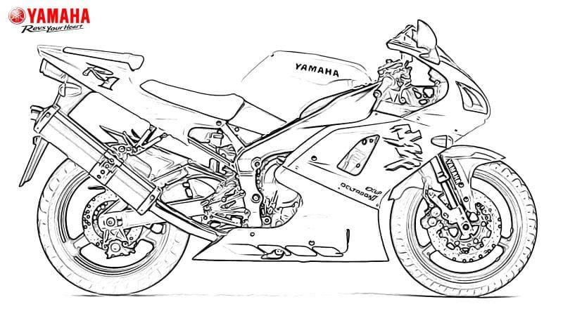 [Street] Yamaha Colouring (coloriages) : mets de la