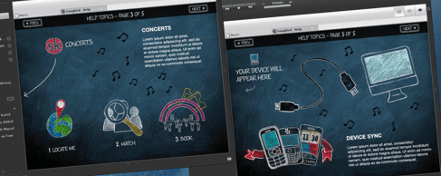 Vodafone 360 Music Player