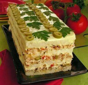 Receita Torta Fria de Frango - Receita fácil e grátis venha aprender!