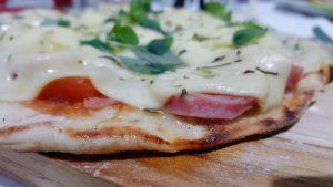 Pizza de frigideira - Venha aprender a sua no site