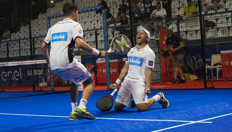 Bela y Tapia conquistan su primer título de la temporada