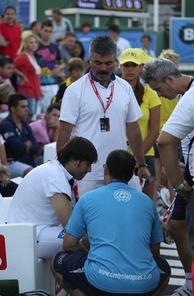 Lesi%C3%B3n Cristian Gutierrez Marbella 11 Padelgood Crónica de cuartos y paso con lesión a semifinales