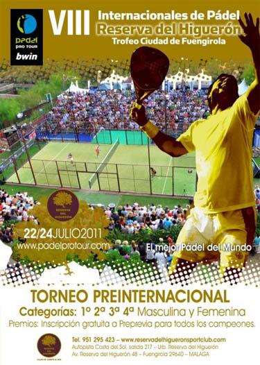 Torneo Pre-Internacional, Club Reserva del Higuerón