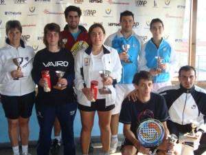 Finalistas internacional uruguay 2011 padelgood Exito en Abierto Internacional de Padel Uruguay 2011