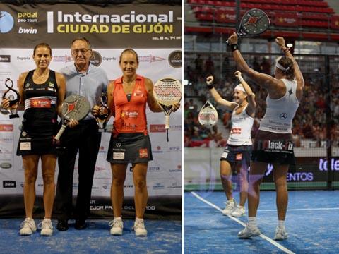 campeonas gijon padelgood Siguen devorando rivales y títulos.