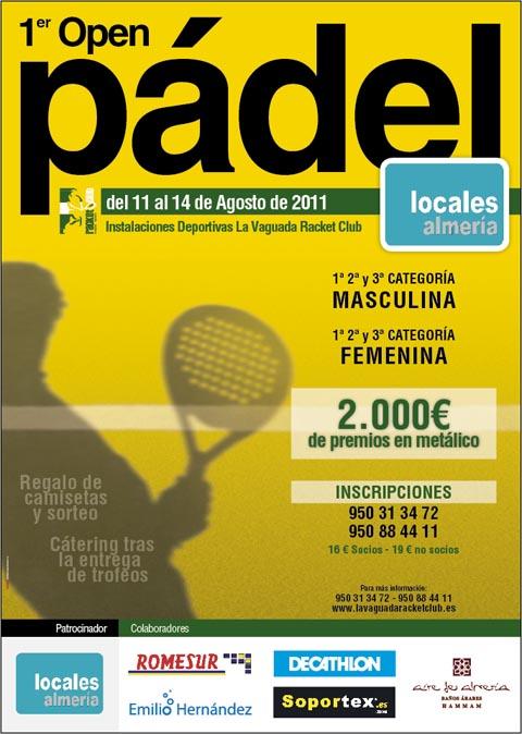 locales almeria padelgood I Open de Padel Locales Almería.