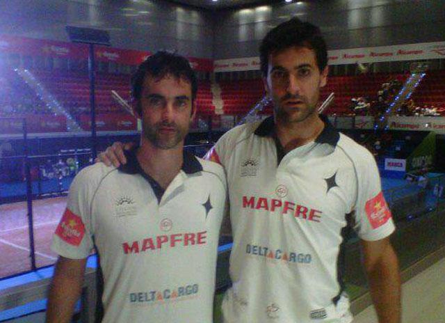 gallegos padelgood Otero e Yribarren dan la sorpresa.