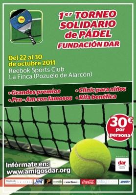 1er torneo Fundaci%C3%B3n Dar Padelgood 1º Torneo Solidario de Pádel Fundación DAR