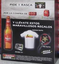 Estrella Damm promocion pala Padelgood1 Estrella Damm y Master Padel Pro Tour regalan camisetas y palas Star Vie