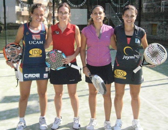 llaguno padelgood Clinic de Paty Llaguno en el Club de Tenis de Castro Urdiales.