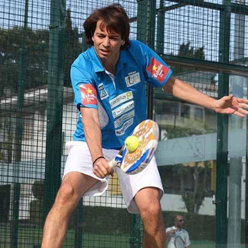 """Marcello Jardim Jardim: """"Vamos a jugar sólo dos torneos como pareja porque Godo ya tenía un compromiso con otro jugador"""""""