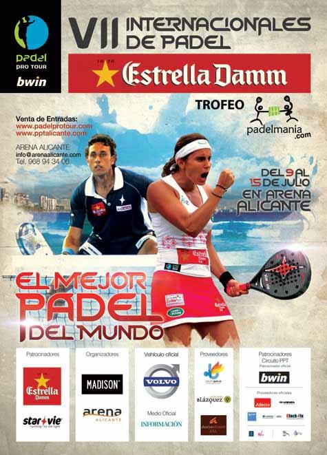 cartel Nuevo récord de parejas inscritas en el PPT de Alicante