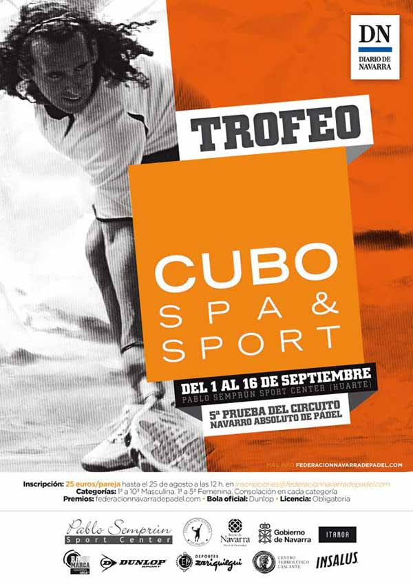 cuboweb Trofeo Cubo Spa & Sport – 5ª Prueba Circuito Navarro Absoluto