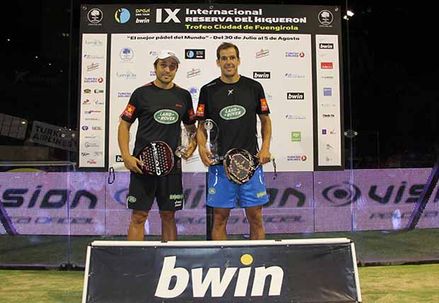 juan martin belasteguin Juan Martín Díaz y @FBelasteguin, campeones en Fuengirola