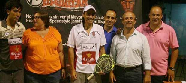 juani pablo Jordi Muñoz y Maxi Sánchez ganan el VII Open de Pádel Ciudad de Almuñécar