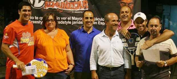 maxi jordi Jordi Muñoz y Maxi Sánchez ganan el VII Open de Pádel Ciudad de Almuñécar