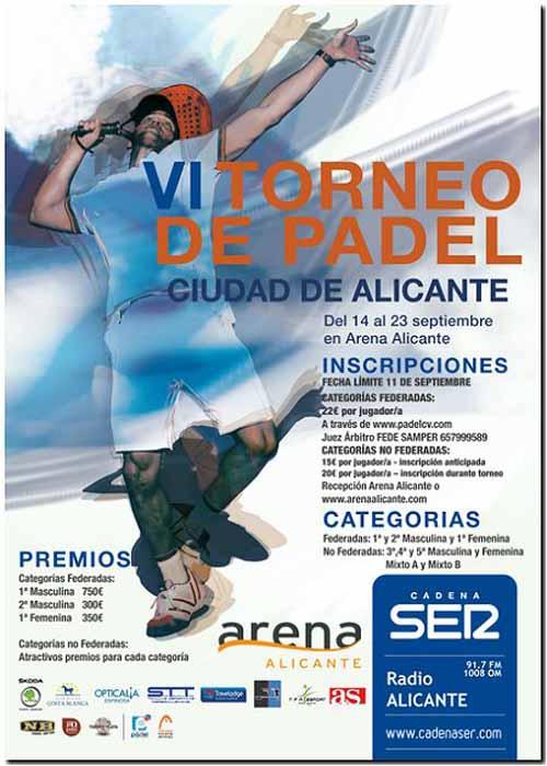 CadenaSer VI Torneo Ciudad de Alicante