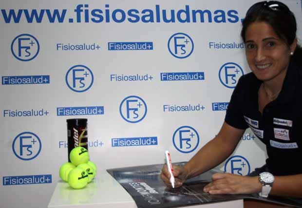 ICIAR MONTES FISIOSALUD FisioSalud+, nuevo patrocinador de @IciarMontes