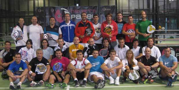 Promoción2012 Curso Técnico Nivel 1 #Padel en la Comunidad Foral de Navarra.
