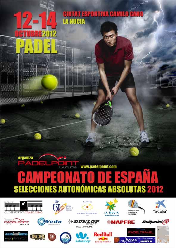 CArtel Campeonato de España de Selecciones Autonómicas Absolutas