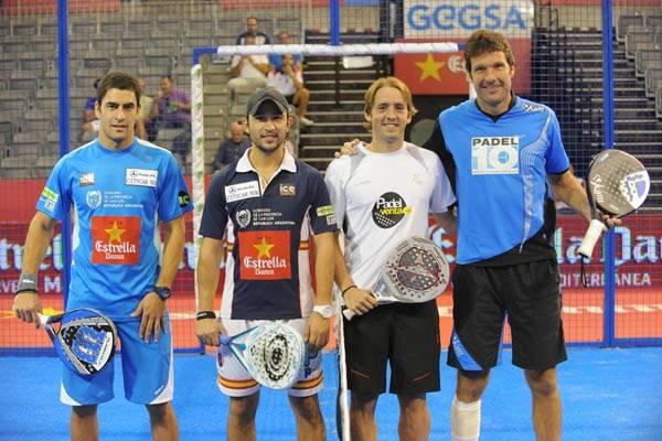 Maxi Sánchez y Daniel Sanyo Gutiérrez vs Eduard Bainard y Juan Gisbert