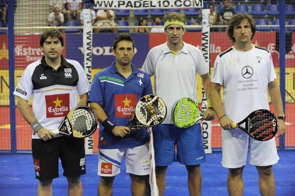 Cristian Gutiérrez y Matías Díaz Sangiorgio vs Alejandro Ruiz y Gastón Malacalza