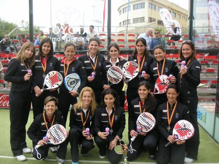 subcampeona de españa por equipos 1ra 2010