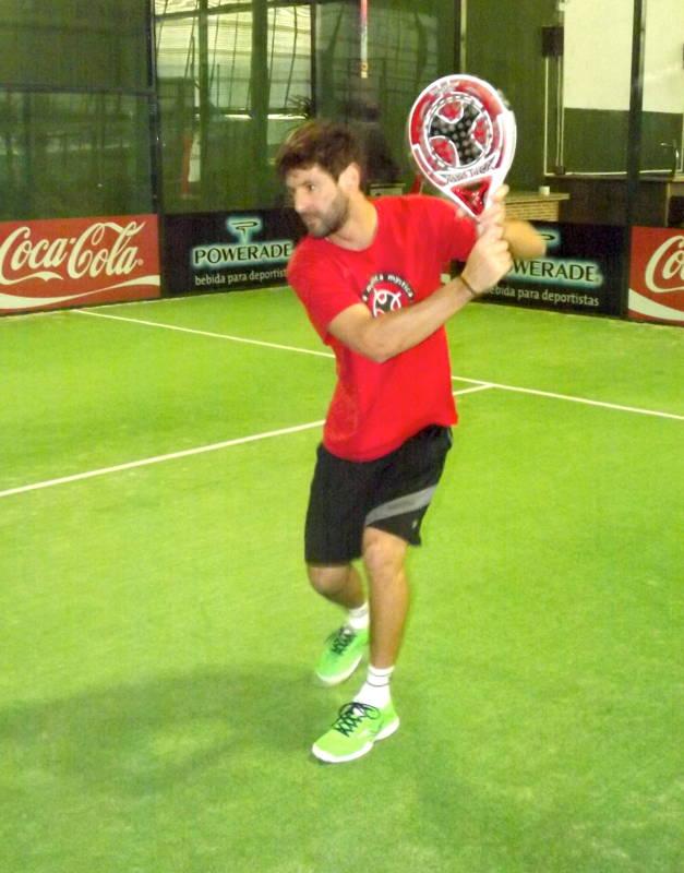 Guga Vazquez entrenando