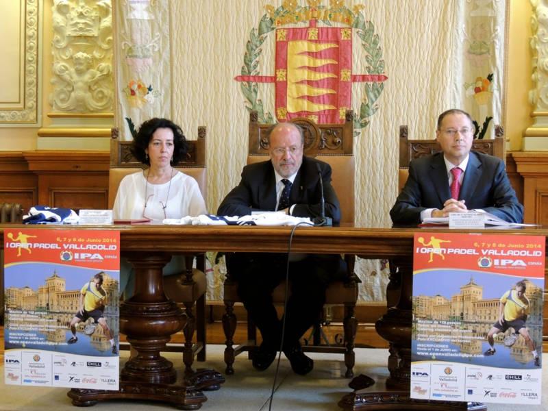 Open de Padel Valladolid IPA presentacion
